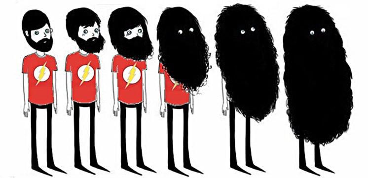 Крутизна в бороду